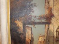 Marc ALDINE - Huile sur toile - Vue de Venise -XXème
