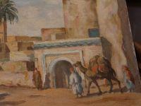 A. BRAUNSTEFER - Huile sur toile orientaliste - XXème