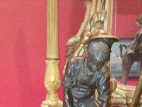 Isidore BONHEUR - Bronze à patine Brune - Jeune fermier - XIXème