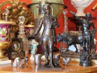 Léon PILET - MOZART bronze - XIXème - XXème
