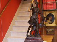 Louis Ernest BARRIAS - Fonte Suisse bronze patine brun - La renommée