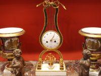 Pendule lyre - Louis XVI - XVIII