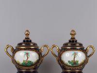Paul LEFEBURE - Vase d'apothicairerie - XIXème