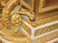 CHARPENTIER : PENDULE CAGE LOUIS XVI