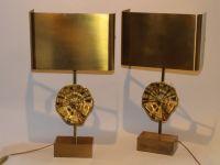 MAISON CHARLES Paire de lampes