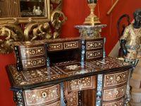 Bureau Mazarin - Style Louis XIV / Régence - XIXe