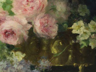 Maguerite BRUN - Huile sur toile XIXème