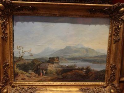 Karl HACKERT - Paire de gouaches - XVIIIème
