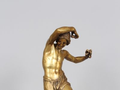 F. DURET - Bronze - Le danseur aux castagnettes - XIXème
