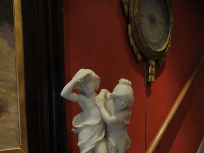 Auguste MOREAU - Sculpture marbre blanc - XIXème - XXème