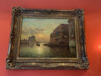 JOSEPH-ANTOINE BOUVARD - Vue de Venise - XIXe-XXe